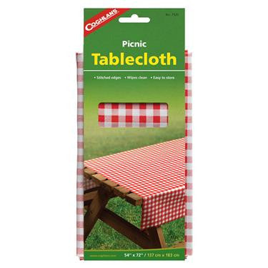 Red Gingham Picnic Table Cloth