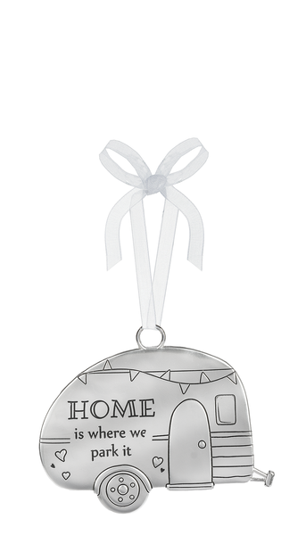 """Home Is Where We Park It"" Ornament"