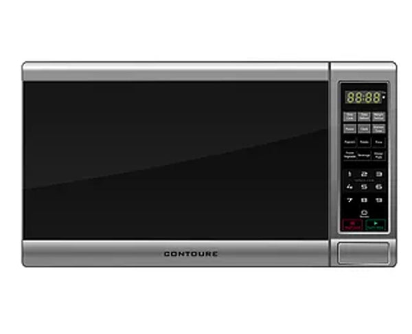 Contoure 0.7 Cu. Ft. Compact Microwave Oven (Stainless Steel)