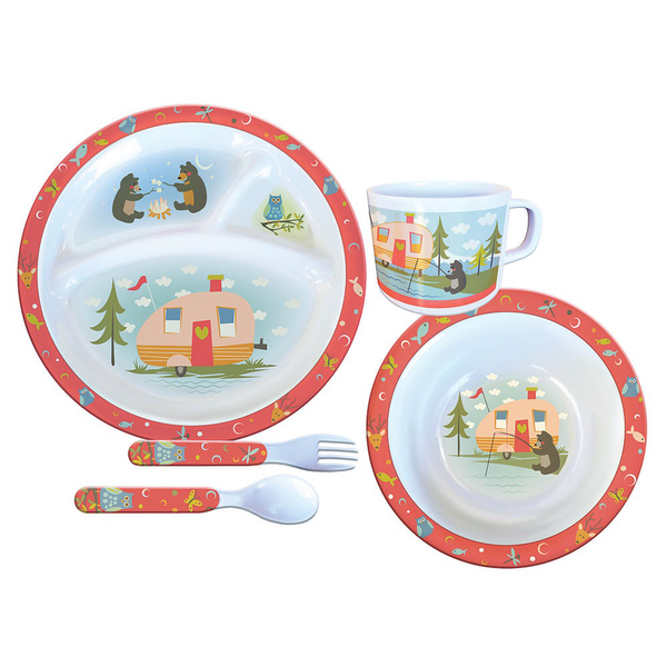 Camp Casual Childrens Melamine Dish Set