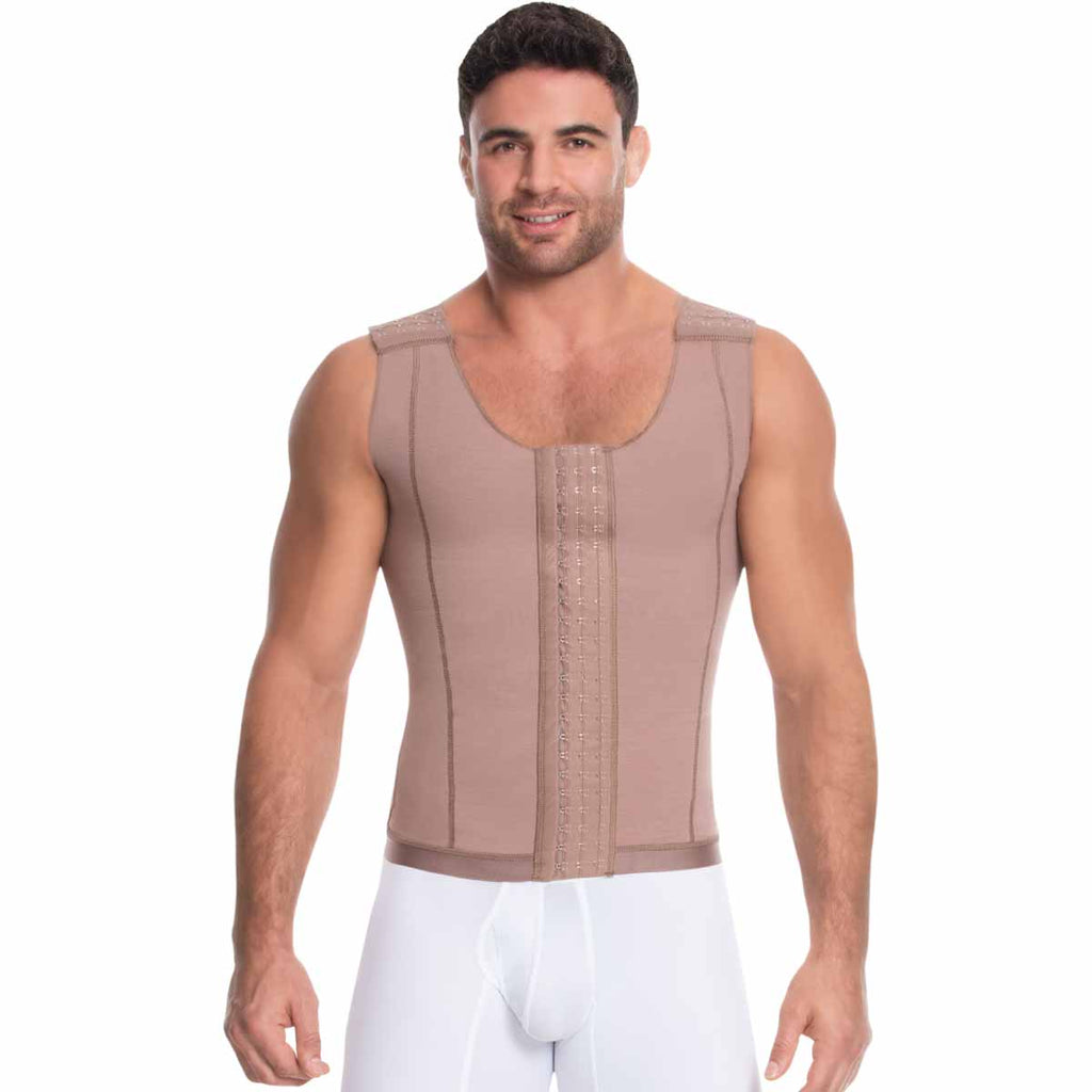 Fajas Diseño de Prada Ref 11017 / 09016 Post-Surgical & Abdomen Reduction Male Girdle