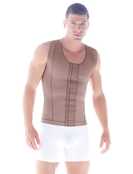 Fajas Diseño de Prada Ref 11017 Post-Surgical & Abdomen Reduction Male Girdle