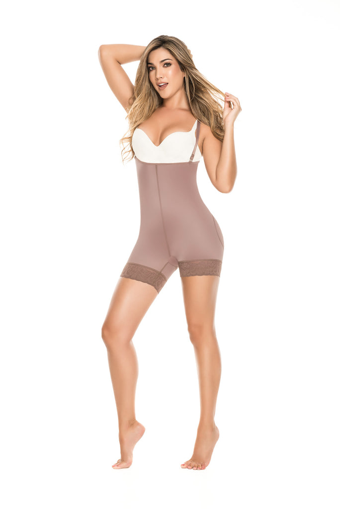 Fajas Diseño de Prada  Ref 11075 / 09075 Invisible Antiallergic Hip-hugging Body-Type Girdle