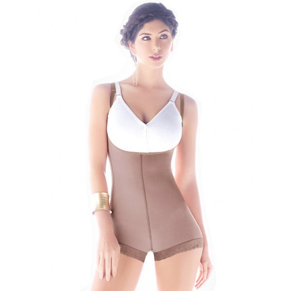 Fajas Diseño de Prada  Ref 11075 Invisible Antiallergic Hip-hugging Body-Type Girdle
