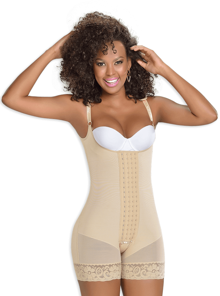 Fajas M&D F0083 - Short Girdle with 4 fastening levels Ref.