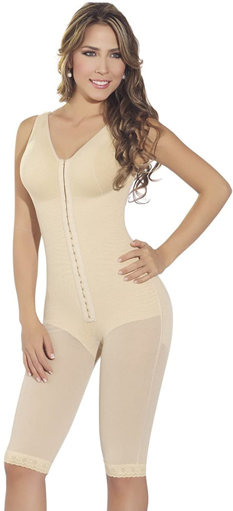 Faja M&D F0120 - Long girdle with bra