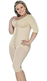 Fajas M&D 0161  Long girdle with back, arm and bust coverage