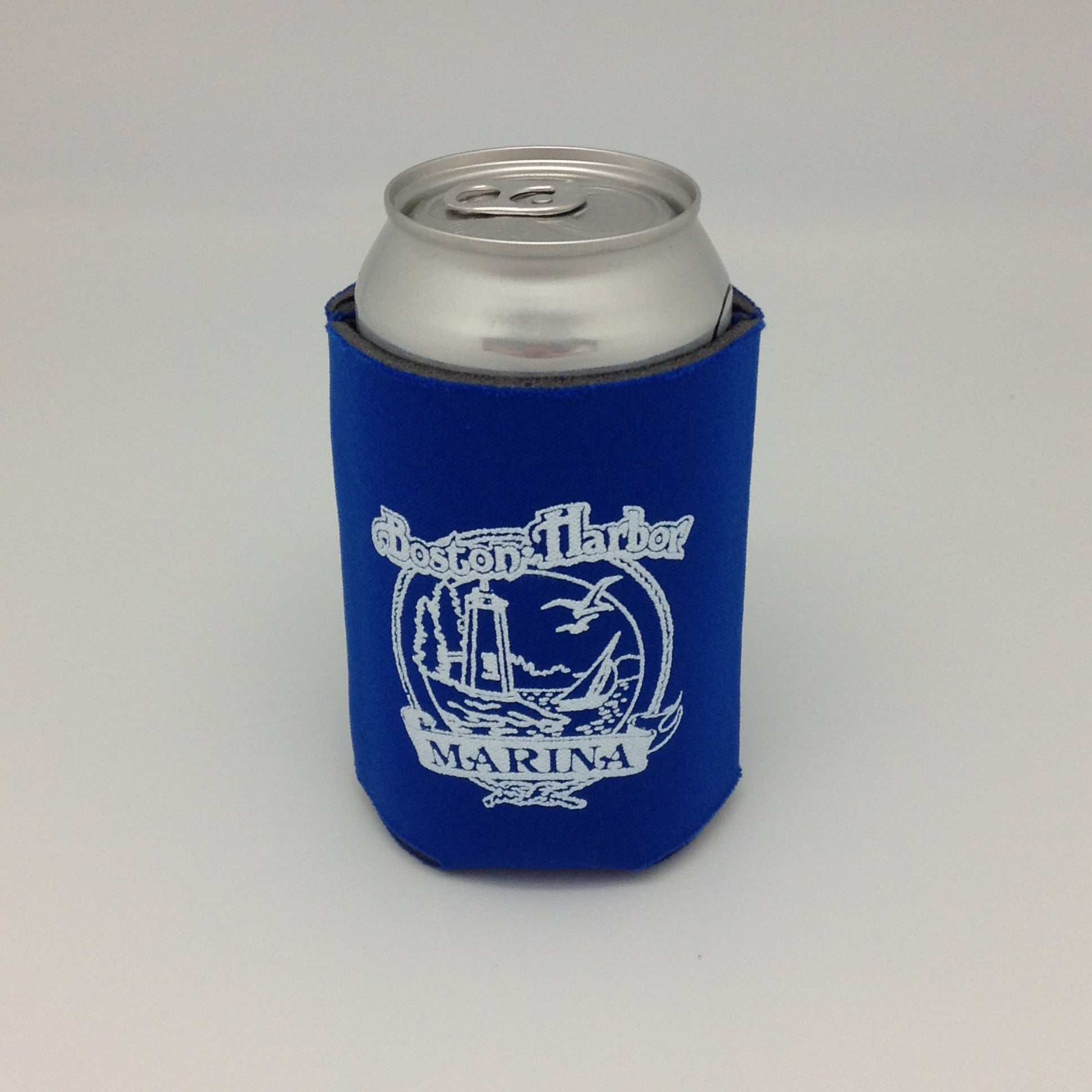 Boston Harbor - Koozie - Blue