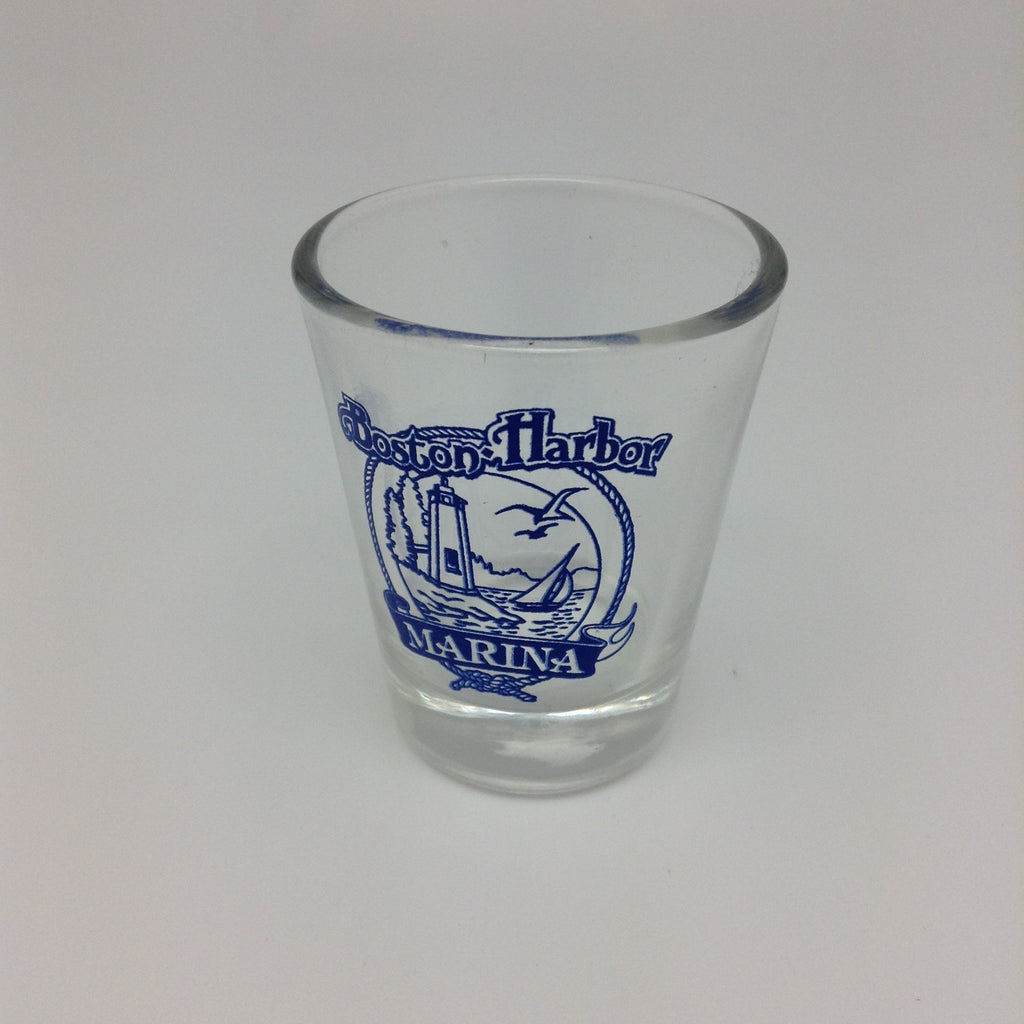 Boston Harbor shot glass