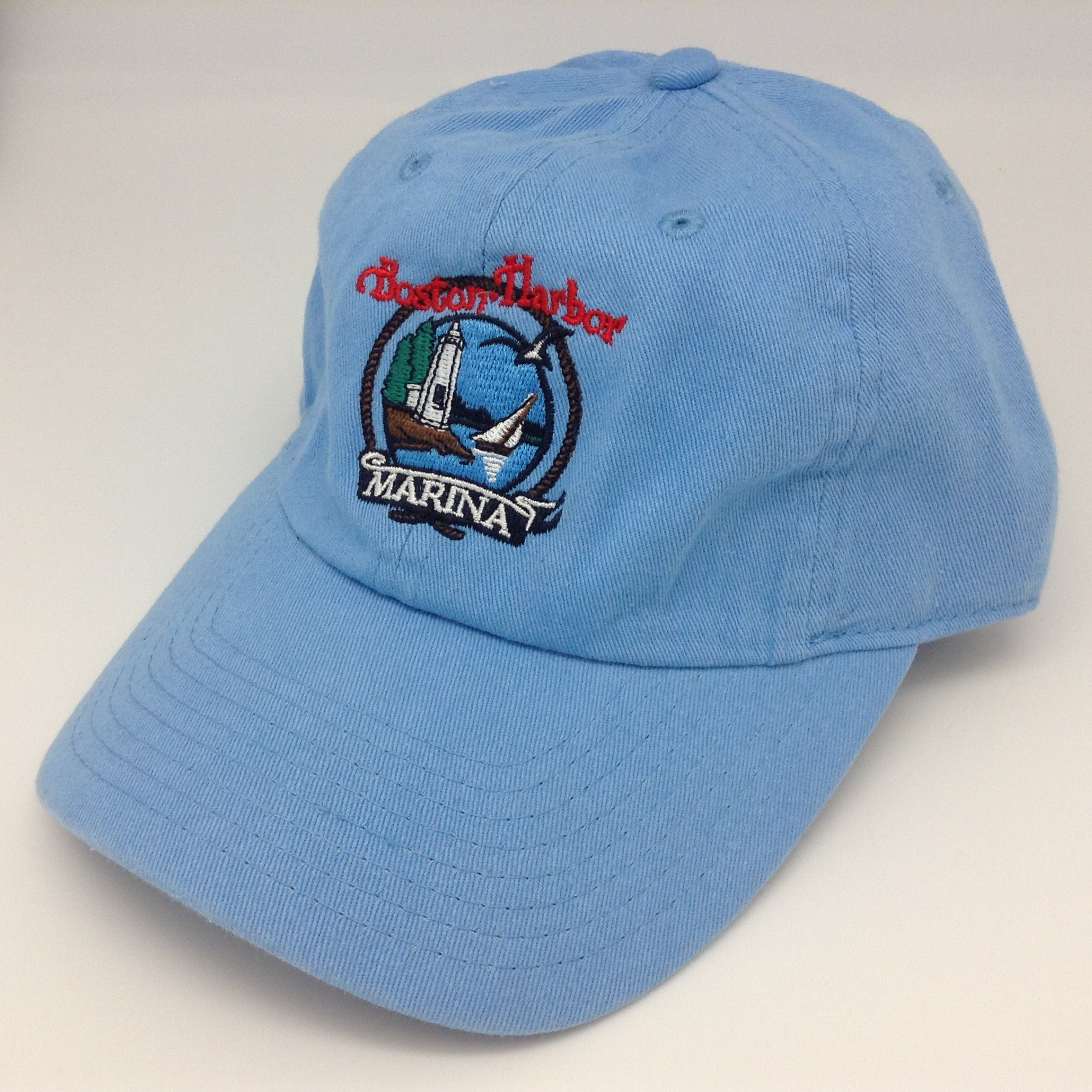 Boston Harbor - Baseball Hat - Light Blue