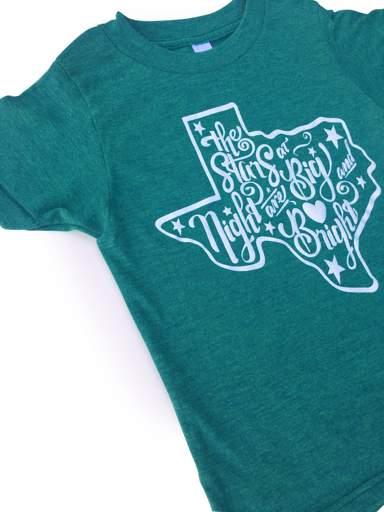 Stars At Night Tri-Green Tee