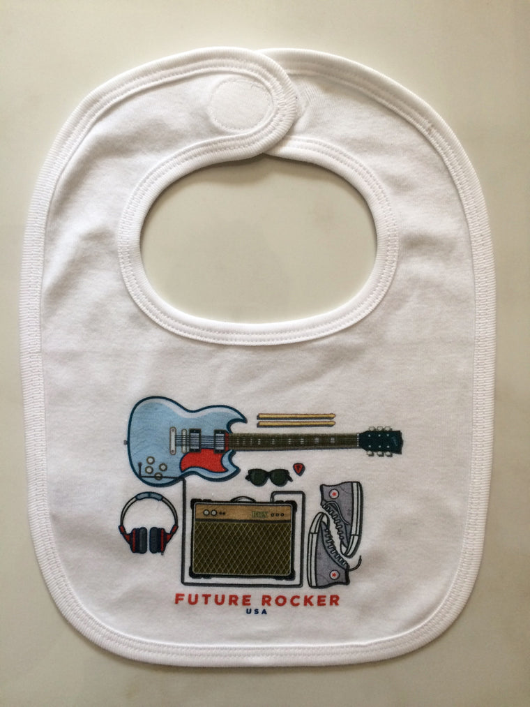 Future Rocker Bib