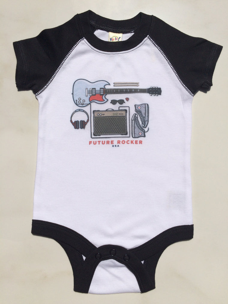 Future Rocker Raglan Bodysuit