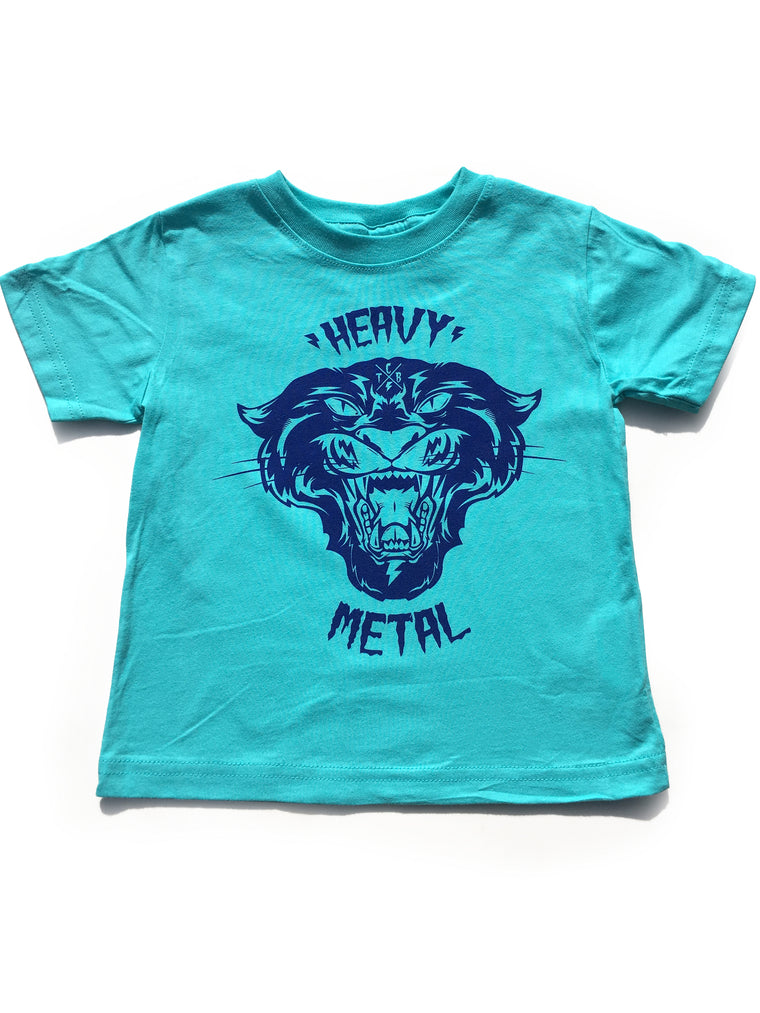 Heavy Metal Tee (Teal)