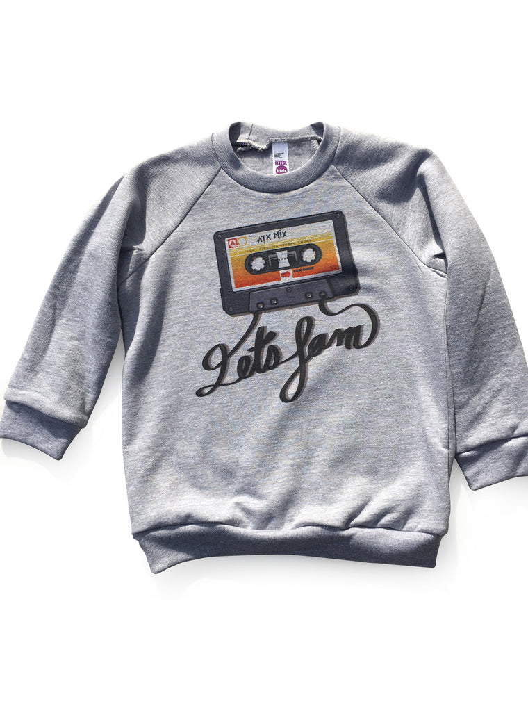 Let's Jam Fleece Raglan
