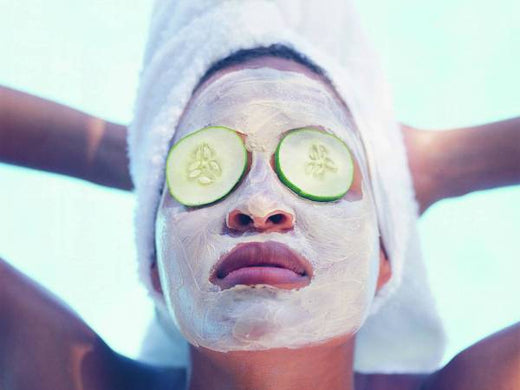 Cucumber Face Mask for Redness
