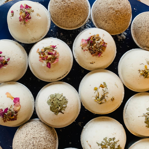 Hypoallergenic and Fragrance-Free Bath Bombs