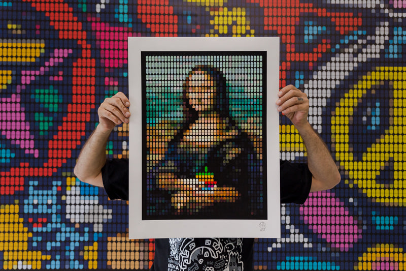 """The Addiction of Mona Lisa"" Speedy Graphito Print Release"