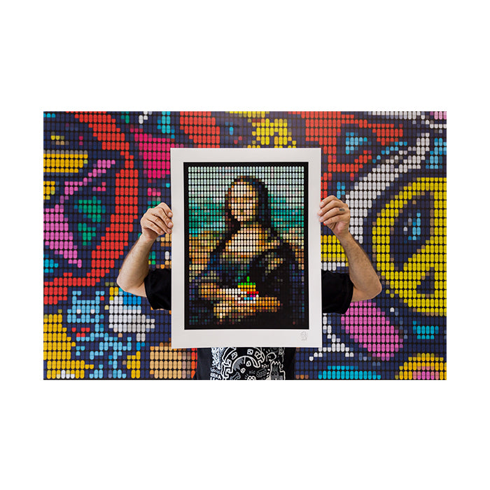 """The Addiction of Mona Lisa"" Limited Edition Giclée AP"