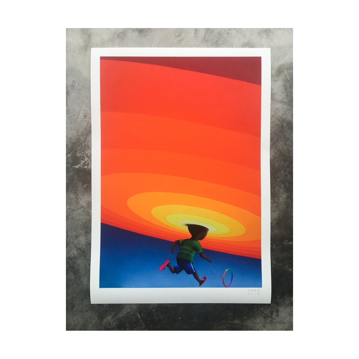 """Sèso"" Limited Edition Giclée AP"