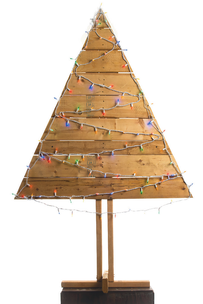 Wood Pallet Christmas Tree.Pallet Christmas Tree Medium 4 5