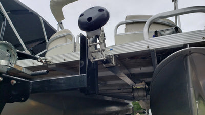 Hinged Pontoon Anchoring Solution