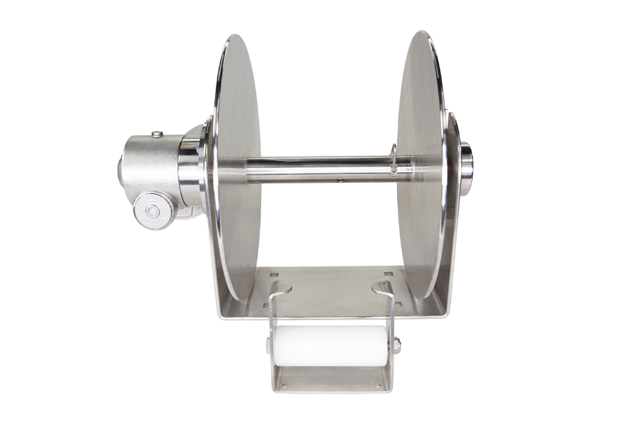 REBEL 5 - STAINLESS STEEL FREE FALL DRUM ANCHOR WINCH FOR BOATS TO 45'
