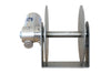 REBEL 6 - STAINLESS STEEL FREE FALL DRUM ANCHOR WINCH FOR BOATS TO 55'