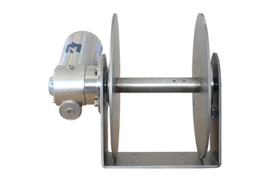 EZ anchor puller drum anchor winch free-fall series includes the Rebel 4, Rebel 5 and Rebel 6 for vessels 30 feet to 55 feet.