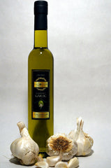 Laconiko Garlic-infused Extra Virgin Olive Oil 375ml bottle