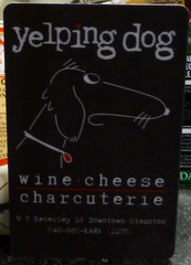 A Gift Card from The Yelping Dog