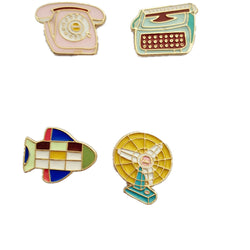 Cool Pins: Old School Tech