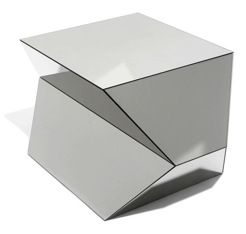 COMPRESSED, edition of side table, Christian Haas, 2002