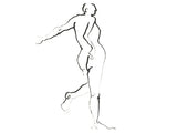Nude Drawing 1-34