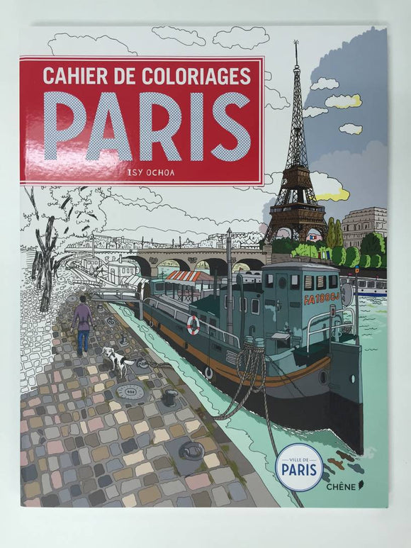 Cahier De Coloriages Paris
