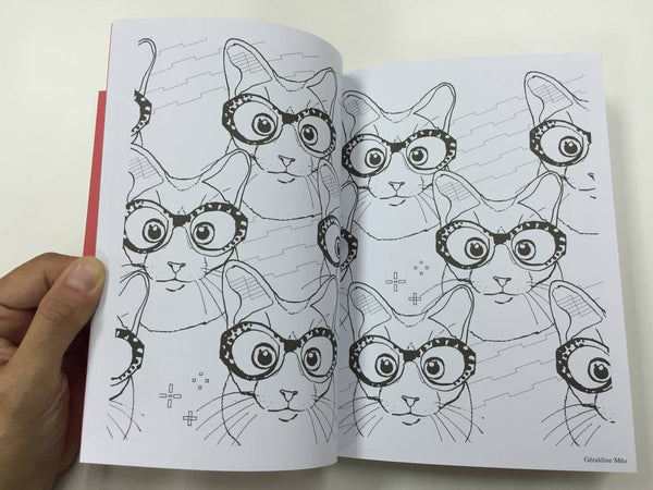 Chats Therapie Coloriages Anti-Stress Collectif