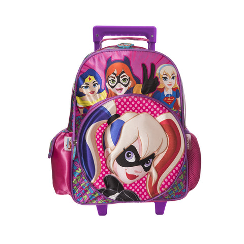 Mochila Rodante Kinder SUPER HERO GIRLS
