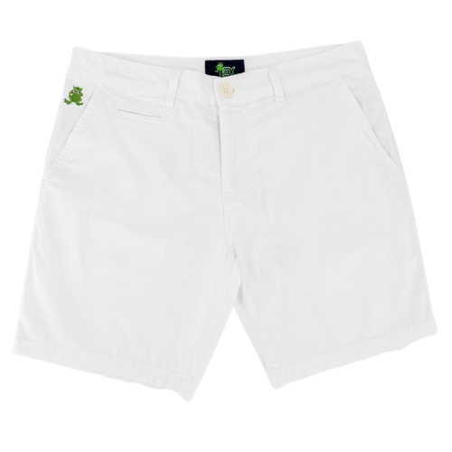 Eight X Frog slim fit short white