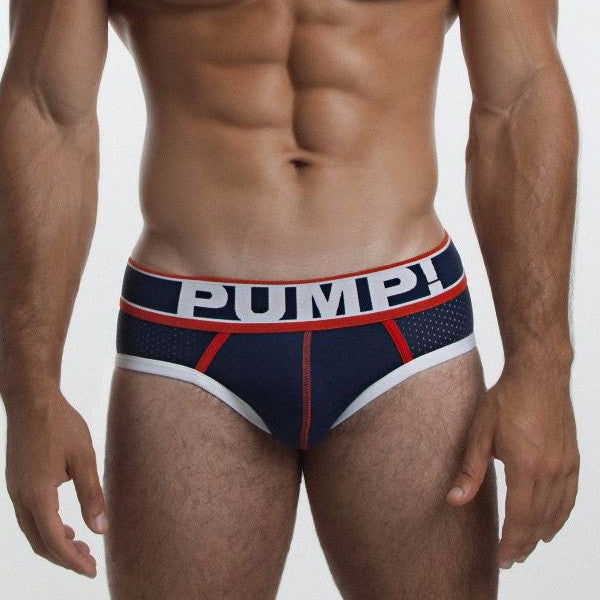 PUMP Big League mesh brief navy