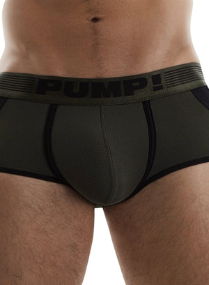 PUMP Access mesh jockboxer army green
