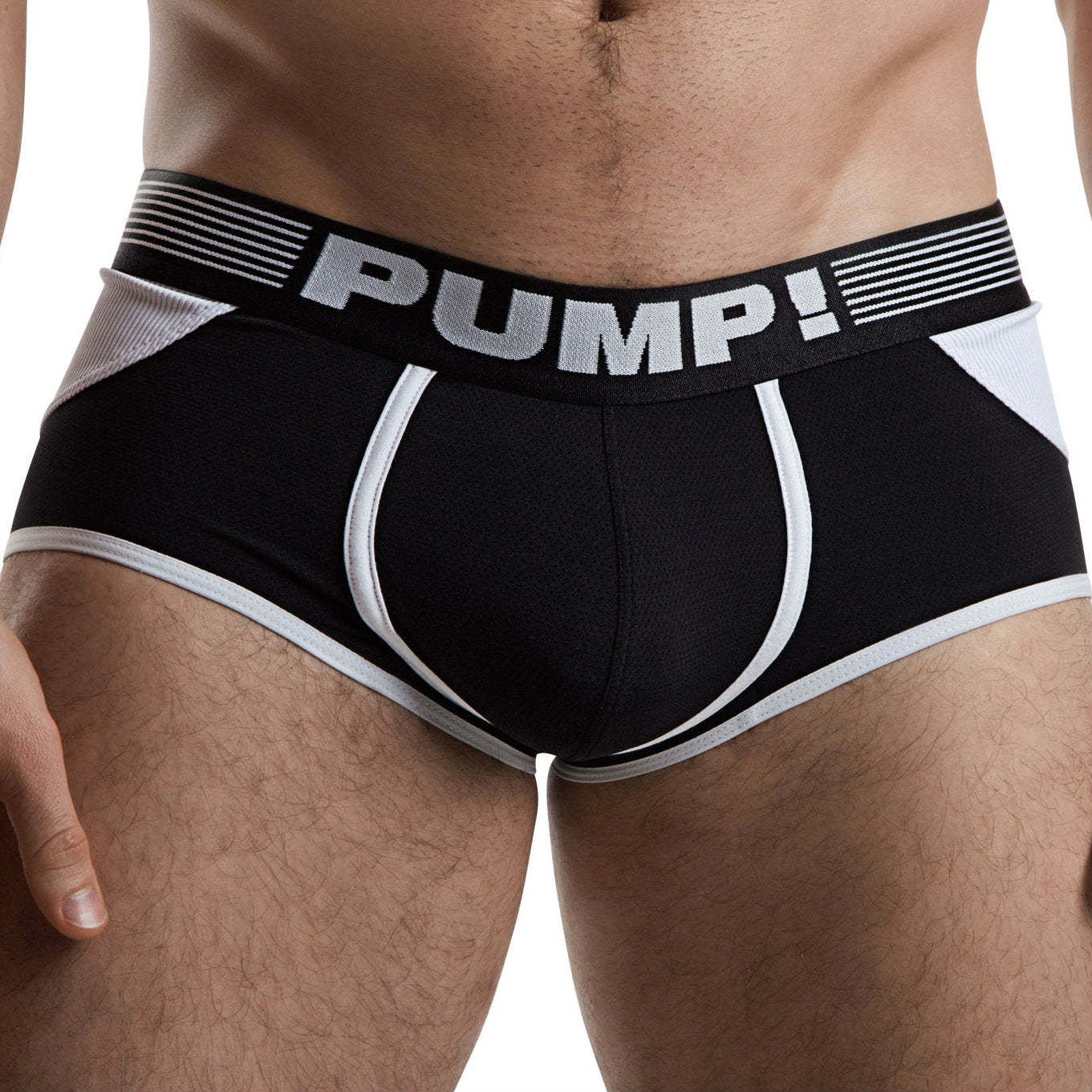 PUMP Access mesh jockboxer black