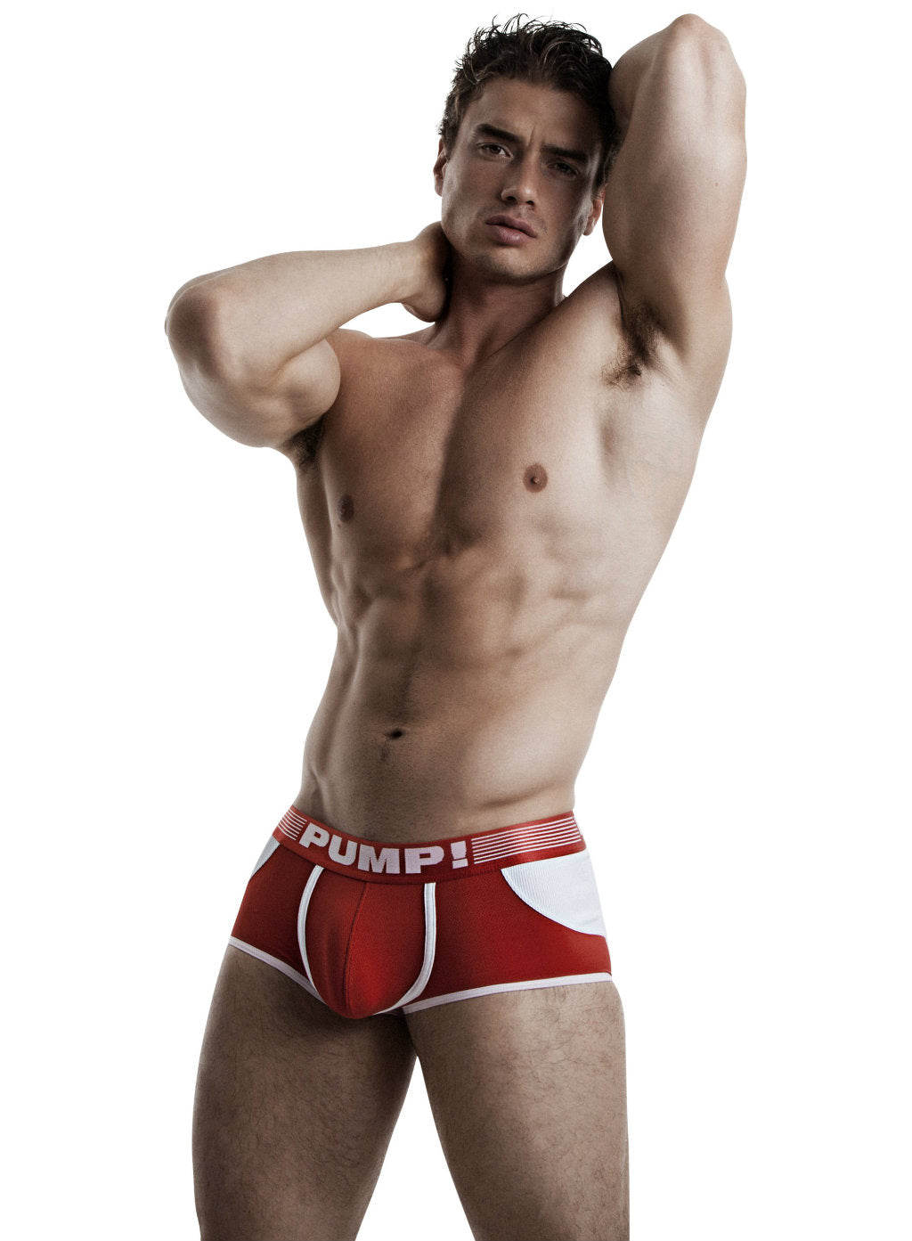 PUMP Access mesh jockboxer red