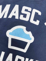 Ajaxx63 Masc 4 Snacks t-shirt blue
