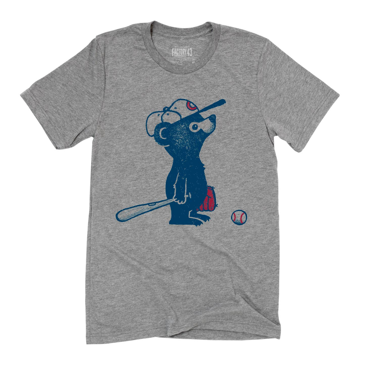 Factory 43 Lovable Cub t-shirt grey