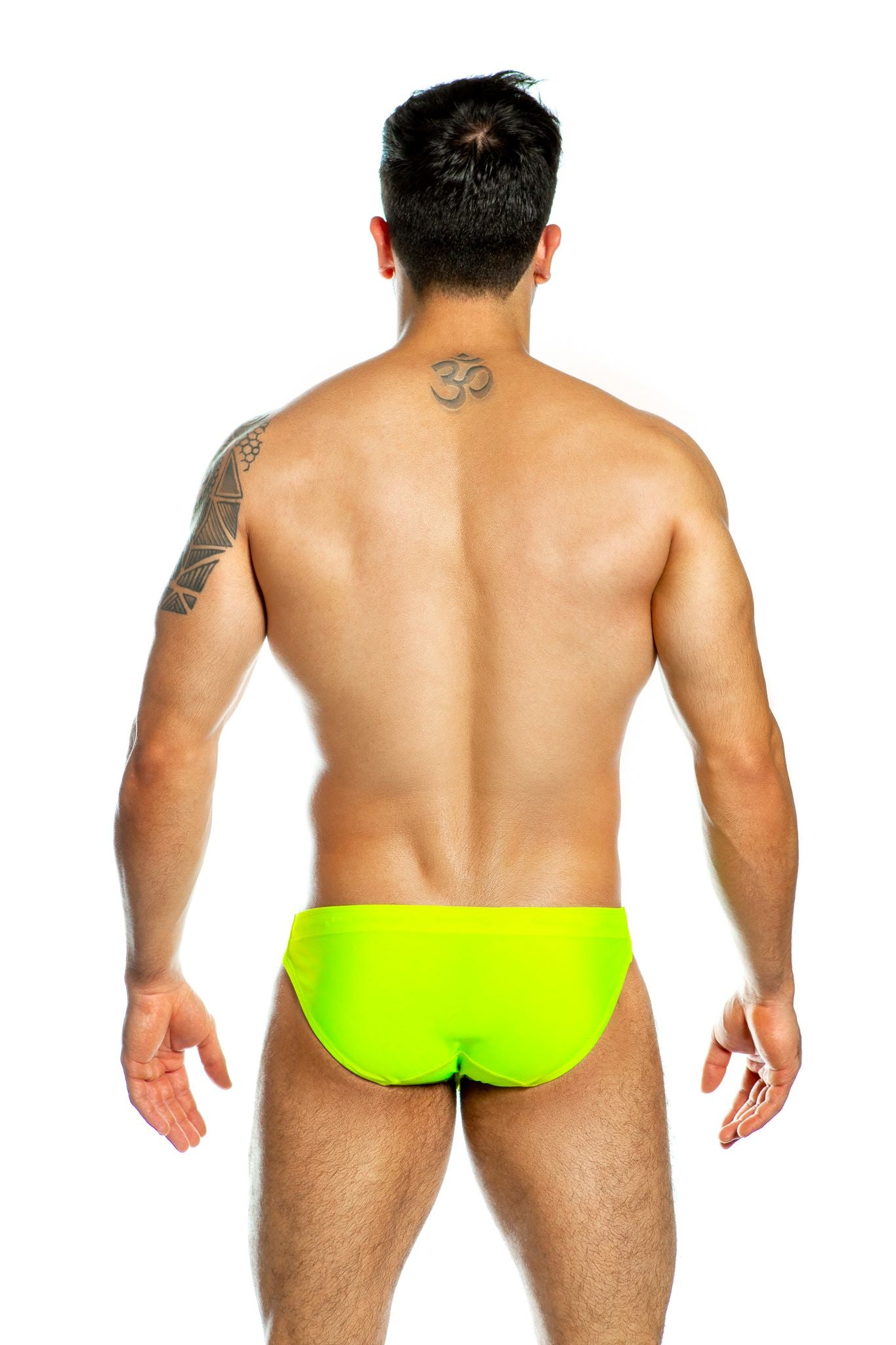 Gigo Neon swim brief green