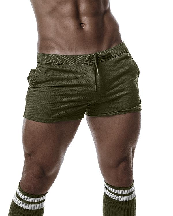 DJX Trough short mesh khaki