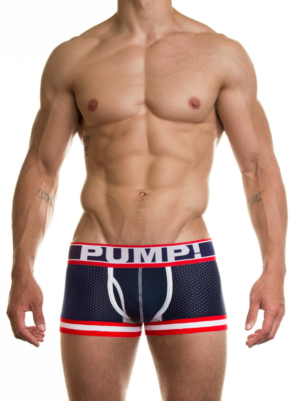 PUMP Big League mesh boxer navy