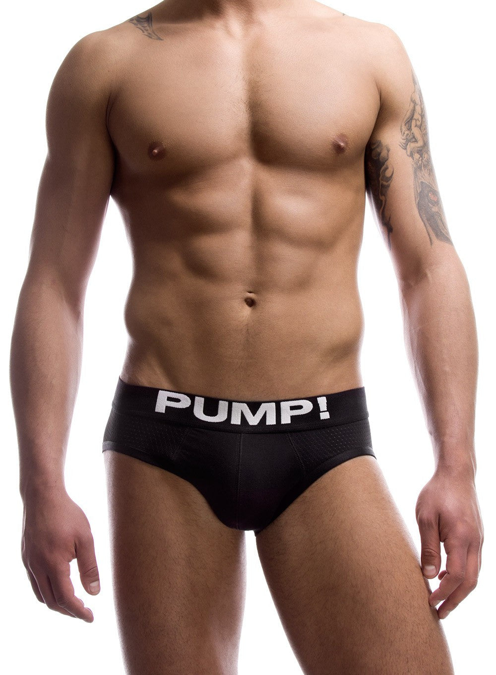 PUMP Touchdown Classic mesh brief black