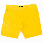 Eight X Frog slim fit short yellow