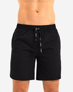 "Teamm8 Rally 8"" short black"
